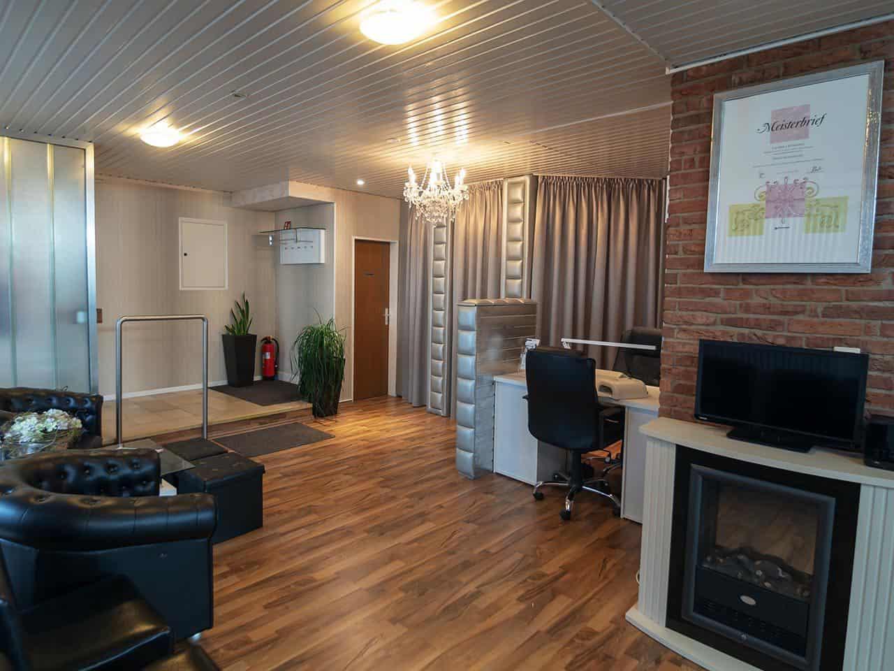 Haarstudio Barock Salon Eingangsbereich