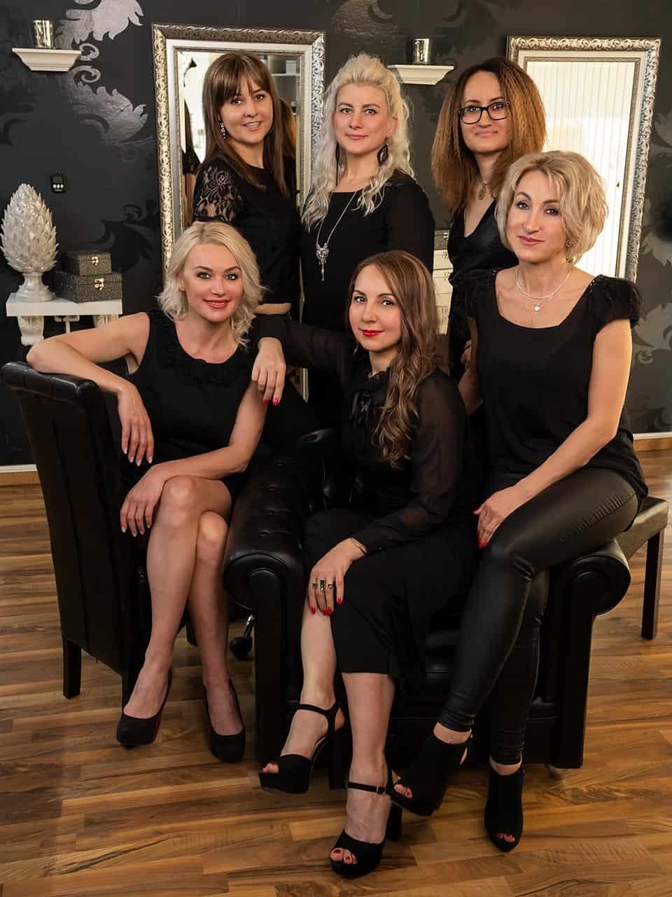 Haarstudio Barock Team - Gruppenfoto