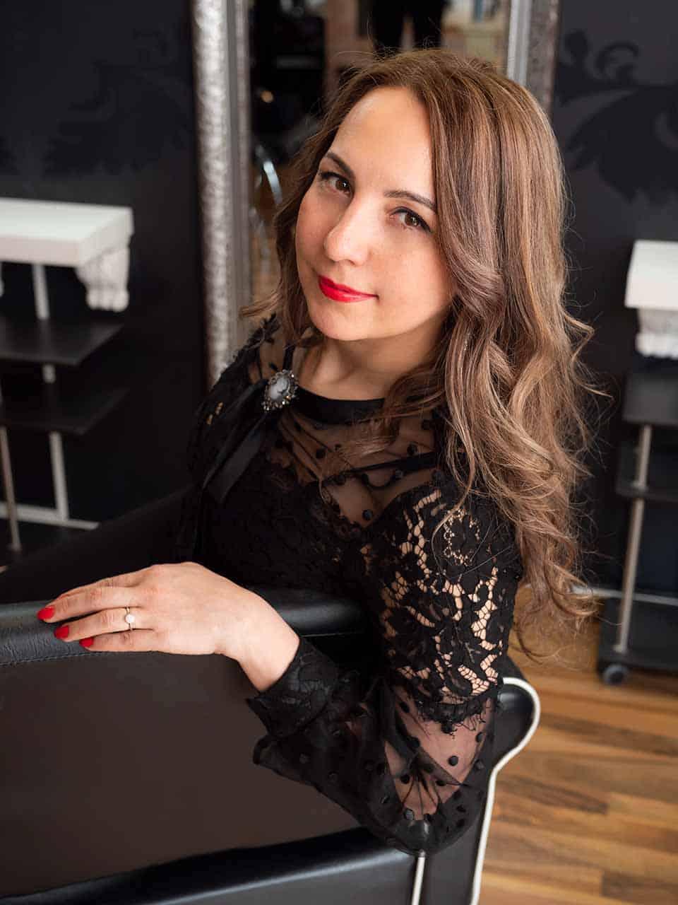 Haarstudio Barock Team Ljudmila Kossenko Einzelfoto
